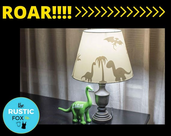 Dinosaur dinosaur decor dinosaur decorations dinosaur lamp like this item mozeypictures Gallery