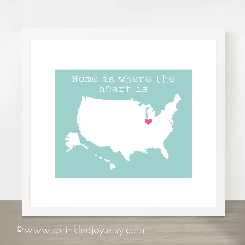 Customizable us map