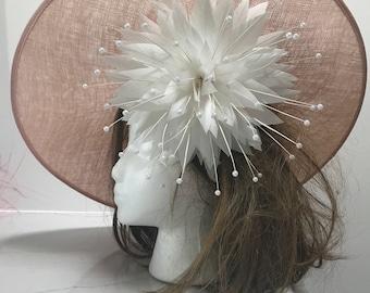Kentucky Derby Hat, Del Mar Hat, Royal Ascot Hat, Derby Hat, Sinamay Hat