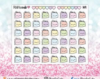 Sleep in Stickers, Planner Stickers -149