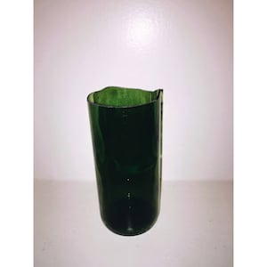 Wine bottle vase/tall planter
