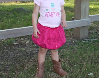 Big Sister Little Sister Outfits - Big Sister Shirt - Little Sister Shirt - Big Sister Gift