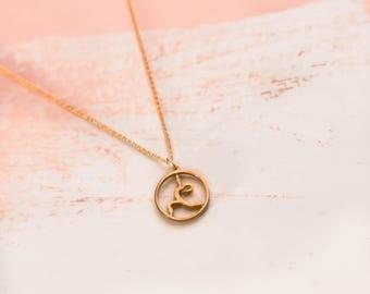 Yoga Jewelry | Warrior I | Gold