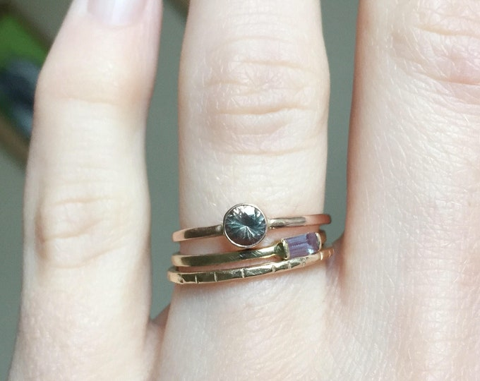 oregon sunstone ring