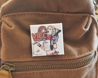 Harley Quinn badge