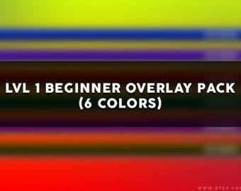 LVL 1 Beginner Overlay Pack