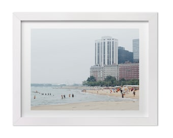 Chicago Print, Summer in Chicago, Chicago Wall Art, Lake Michigan Print, Chicago Photography, Chicago Gift, Landscape Photography