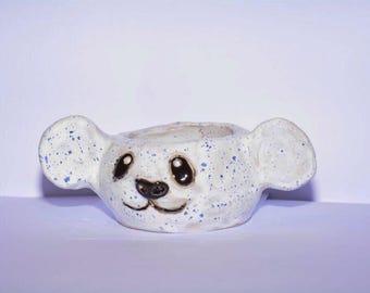 Panda cactus pot
