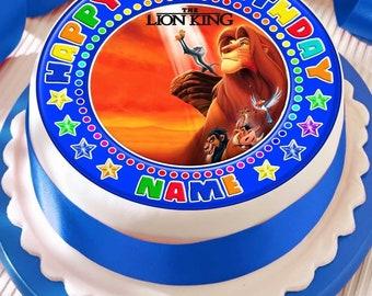 Simba cake topper Etsy