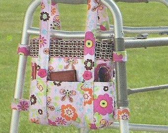 Walker tote....Walker bag....Side tote...made to order....handmade...great gift idea.