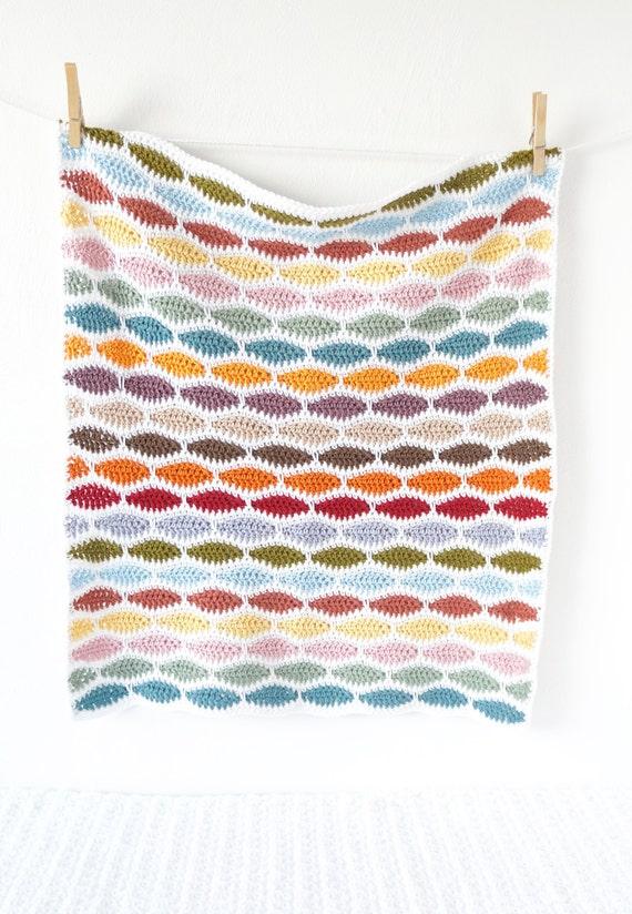 Ganchillo manta patrón ganchillo fácil patrón patrón para