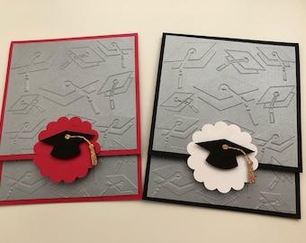 Set of 2 Gift Card Holders Graduation