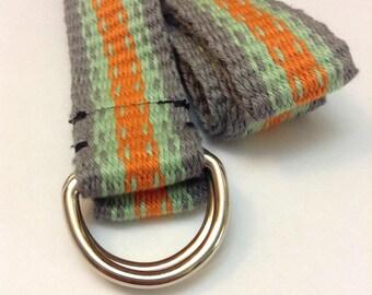 Desert Moss Hand Woven Belt