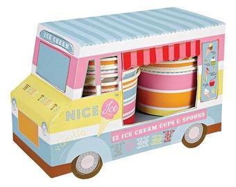 Ice Cream Van Ice Cream  Cups
