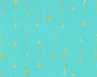 SALE - Michael Miller - Arrow Flight Collection - Arrows in Luna Metallic