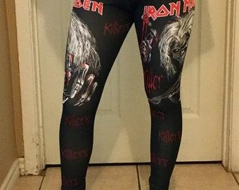 Iron Maiden/Rolling Stones Leggings