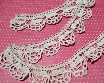 Antique Lace Vintage Lace Trim Cotton Lace Trim Irish Crochet