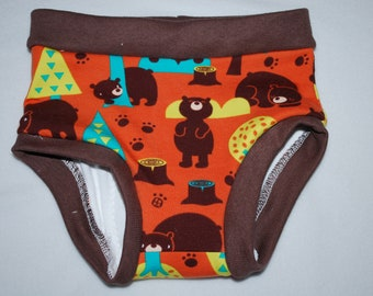 Boats or Bears Cloth Training Pants Made to Order