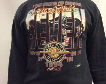 1994 7 Seven Time Winston Cup Champ - Dale Earnhardt Black Sweatshirt