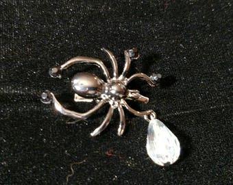 Dew Drop Spider Hair Jewelry