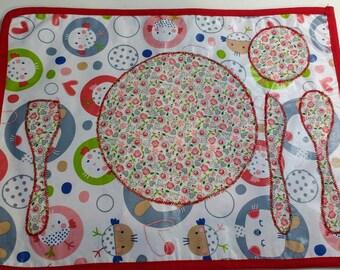 Placemats Montessori / Tovagliete montessoriane
