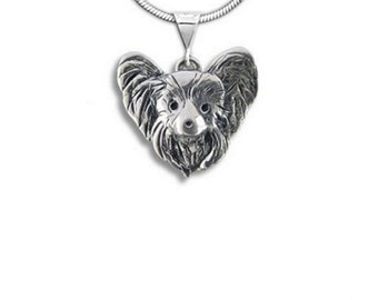 Sterling Silver Papillon Pendant