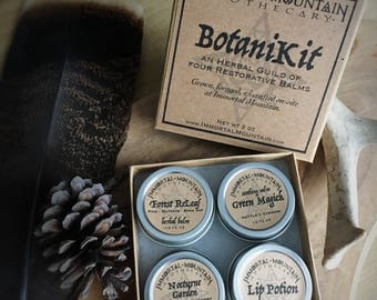 BotaniKit : Natural Herbal Skin Care Sampler Box