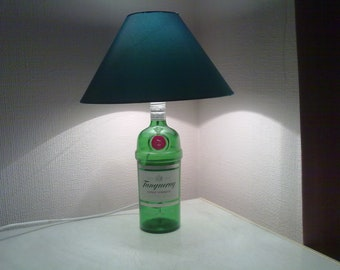 1 litre Tanqueray Gin bottle lamp.