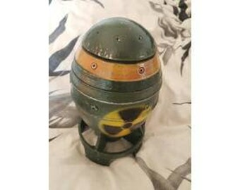 Fallout mini nuke, storage container.  box. Cosplay.  Vault.  Pip boy. Wasteland.
