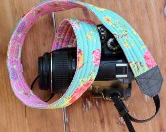 Camera Strap, dslr camera strap, modern camera strap, gift for her, camera holder, pink camera strap, nikon, canon, slr, mother's day gift