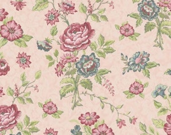 Amelia fabric, Penny Rose Studios, Main in Pink (C5840-PINK) -- By the Yard