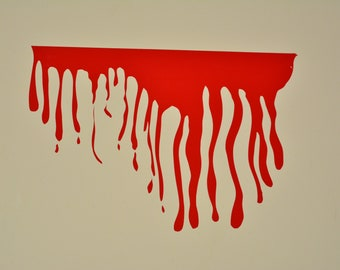 Dripping Blood wall decal