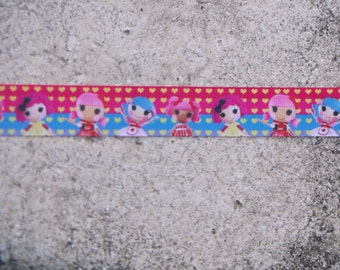 "1"" Lalaloopsy Grosgrain Ribbon -  5 Yards"