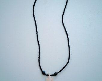 Bone Cross Handmade Beaded Jewelry