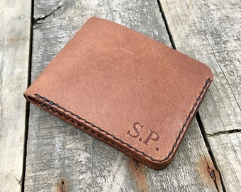 Kangaroo Leather Wallet, Personalised Leather Wallet, Portefeuille Homme, Bifold Wallet, Personalised wallet, Gift for Him, Billfold Wallet