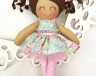Cloth baby doll, Handmade Dolls, Gifts for Girls