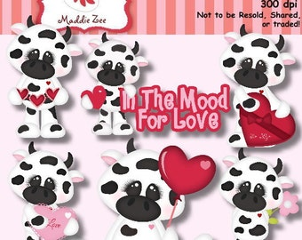I'm in the Mood for Love 1 Clipart (Digital Download)