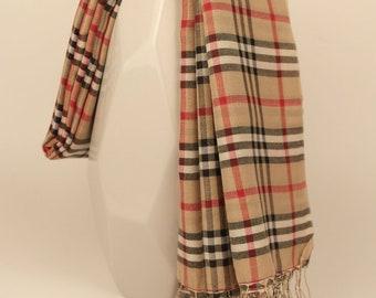 Summer Silk Pashmina & Cashmere Shawl Scarf Wrap Handmade