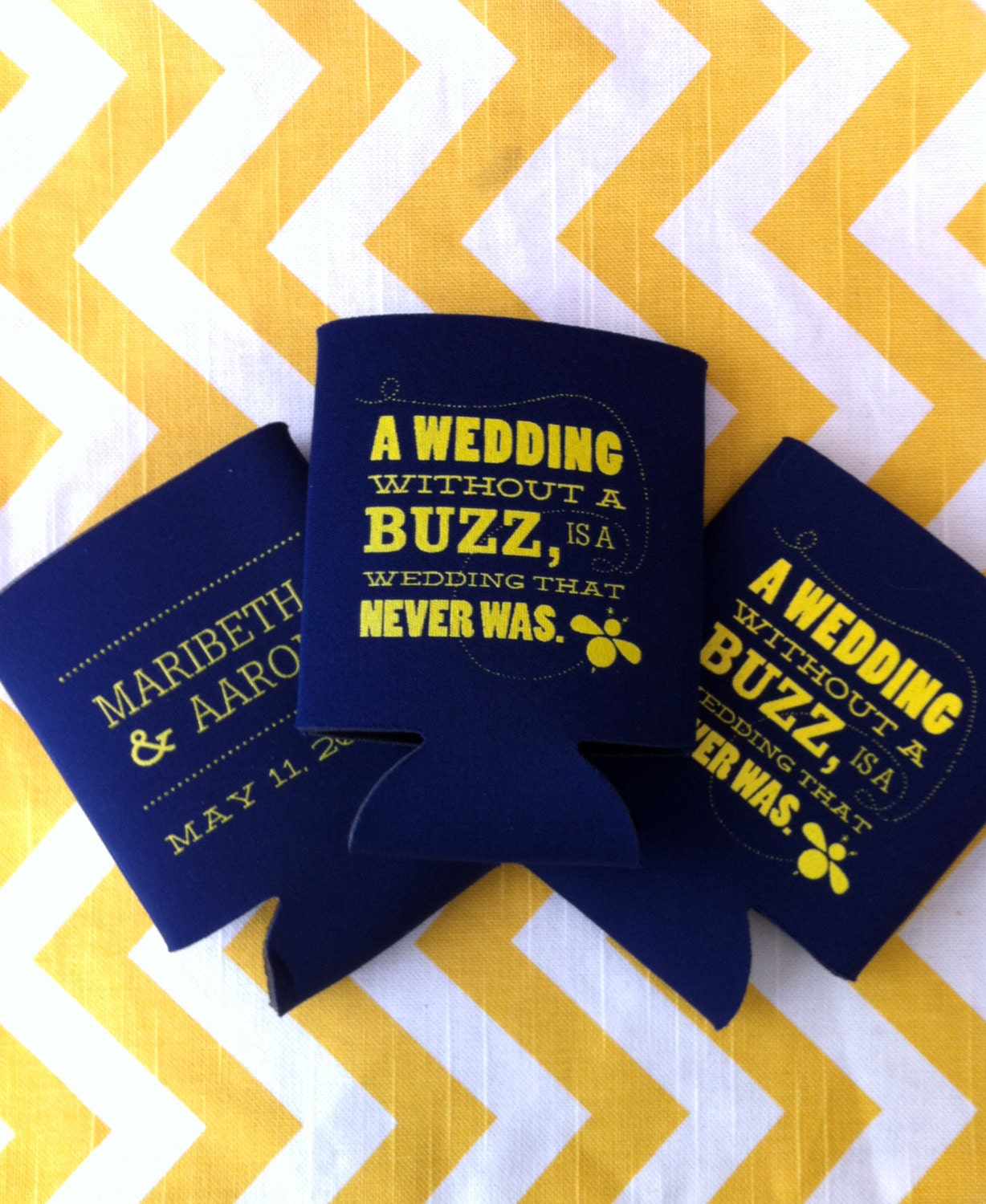 Wedding Without A Buzz Is That Never Was Can Cooler