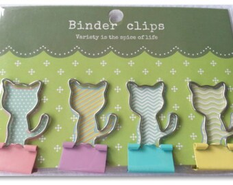 Cat Binder Clips