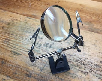 Dual Third Hand with Magnifier (54.085)
