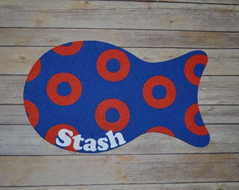 Phish Inspired Inspired -Recycled Rubber Fishman Cat Pet Placemat