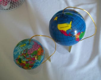 "18"" doll sized World Globes 406E"