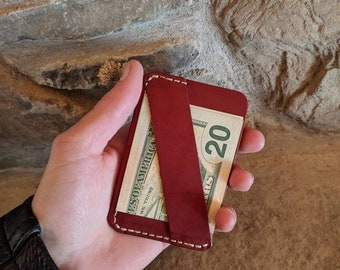Business card wallet, leather business card wallet, slim business card wallet, business card holder, business card case, front pocket wallet