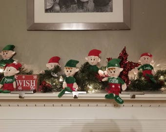 Personalized Christmas Elf, Christmas Elves, Elf Plush, Boy Elf, Girl Elf,
