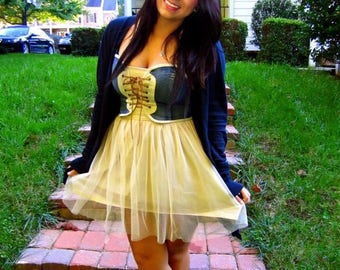 Medium tulle jean ballet dress