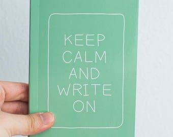 Pocket Sized Journal Booklet - MINT Statement Notebook