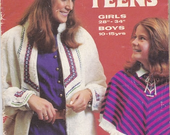Enid Gilchrist - Ten To Teens - Girls & Boys Simple Sewing Designs  - 10 to 15 years - Vintage 1970s