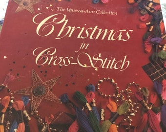 Christmas in Cross Stitch by Vanessa Ann binder and projects