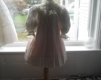 Edwardian Child's Dress